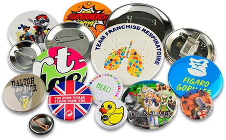 Badges sur mesure